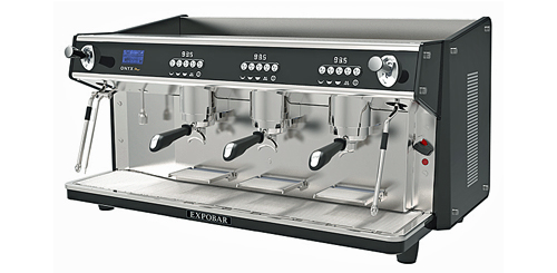 3 group onyx coffee machine