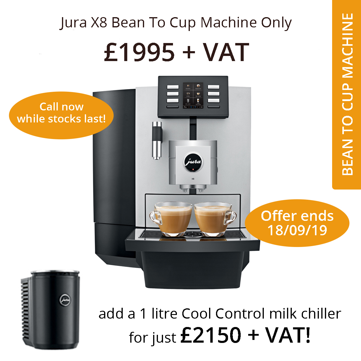X8 coffee machine offer