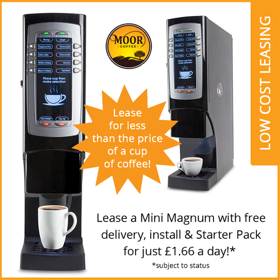 mini magnum coffee machine package