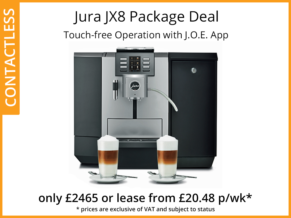 Jura JX8 coffee machine offer
